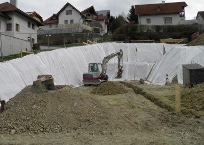Auszuarbeiten für Keller, Tiefgaragen und mehr