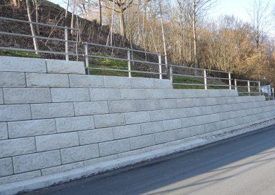 Seinmauer Hangbefestigung